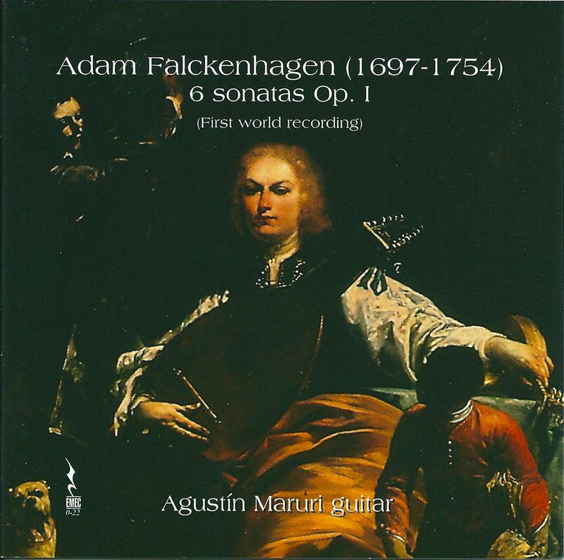 ADAM FALCKENHAGEN-6 Sonates Op.1