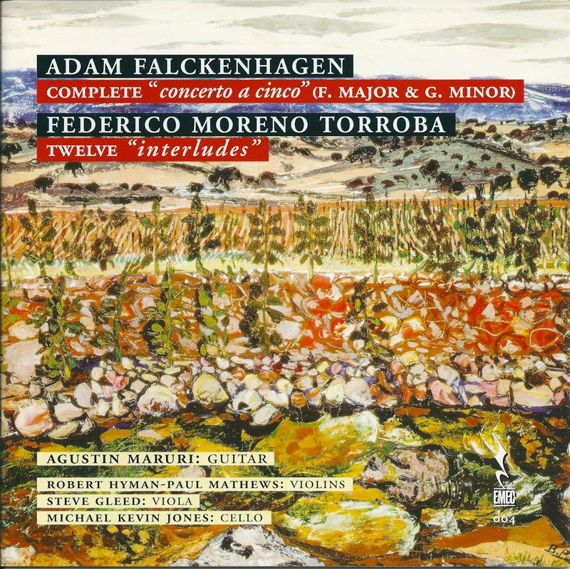 ADAM FALCKENHAGEN-Complete & FEDERICO MORENO TORROBA-Twelve