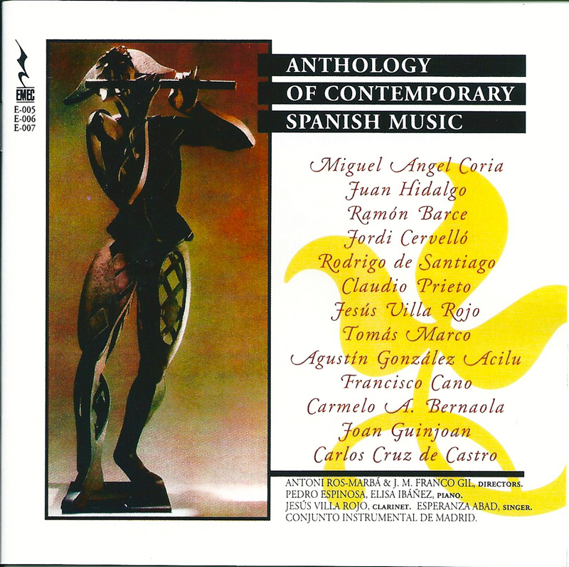 ANTHOLOGY OF CONTEMPORARY SPANISH MUSIC
