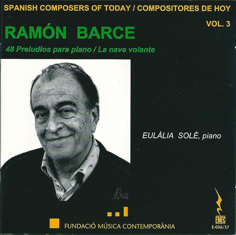 COMPOSITORES DE HOY VOL.3-RAMÓN BARCE