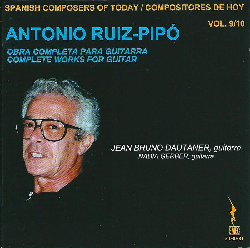 COMPOSITORES DE HOY VOL.9&10-ANTONIO RUIZ-PIPÓ