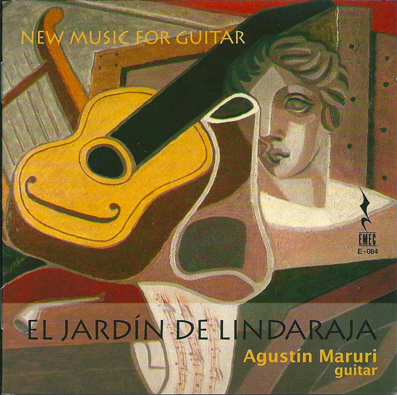 EL JARDÍN DE LINDARAJA-NEW MUSIC FOR GUITAR