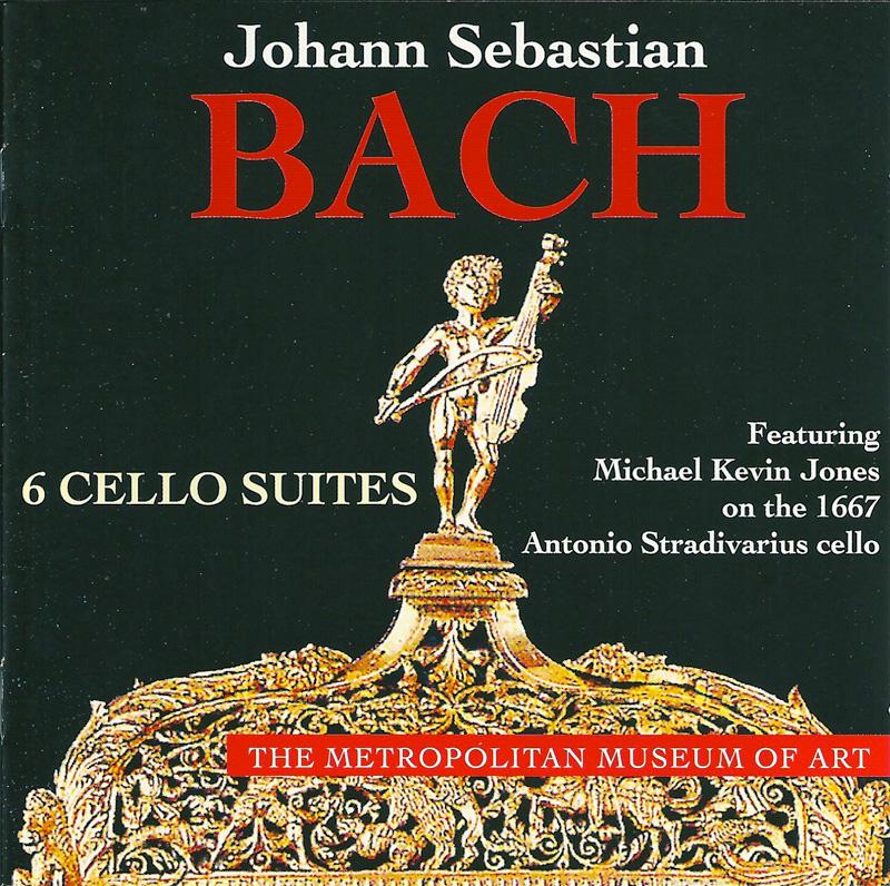 JOHANN SEBASTIAN BACH-6 SUITES FOR VIOLONCELLO SOLO,BWV 1007-1012