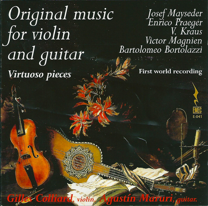 ORIGINAL MUSIC FOR VIOLIN AND GUITAR