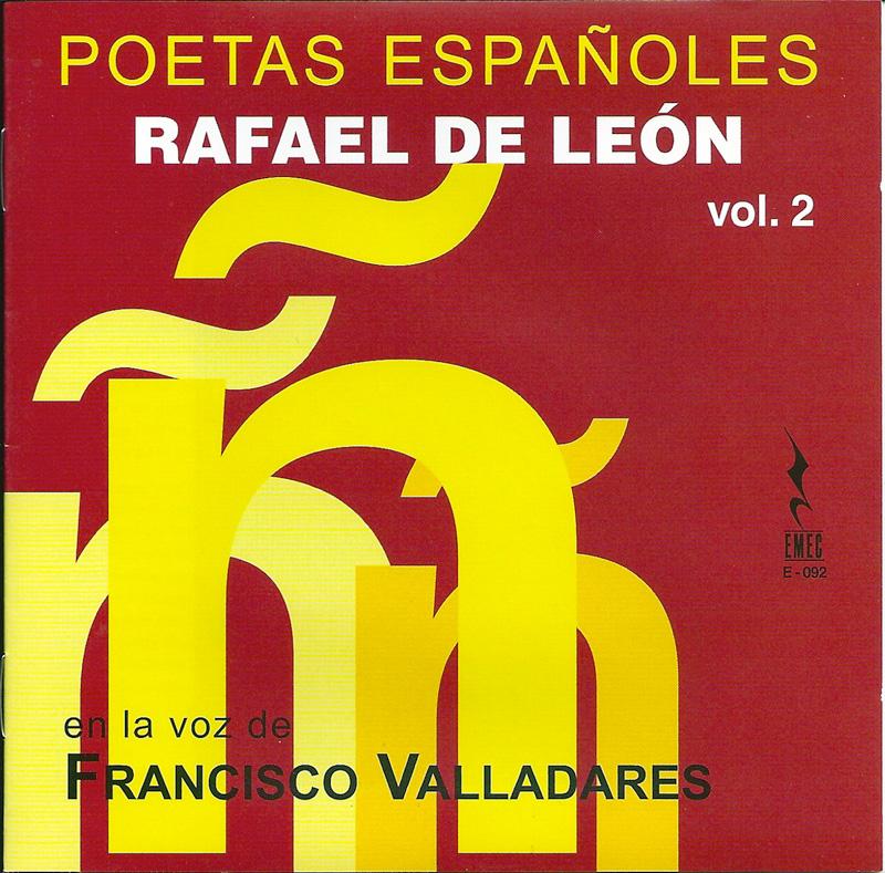 POETAS ESPAÑOLES VOL 2-RAFAEL DE LEÓN