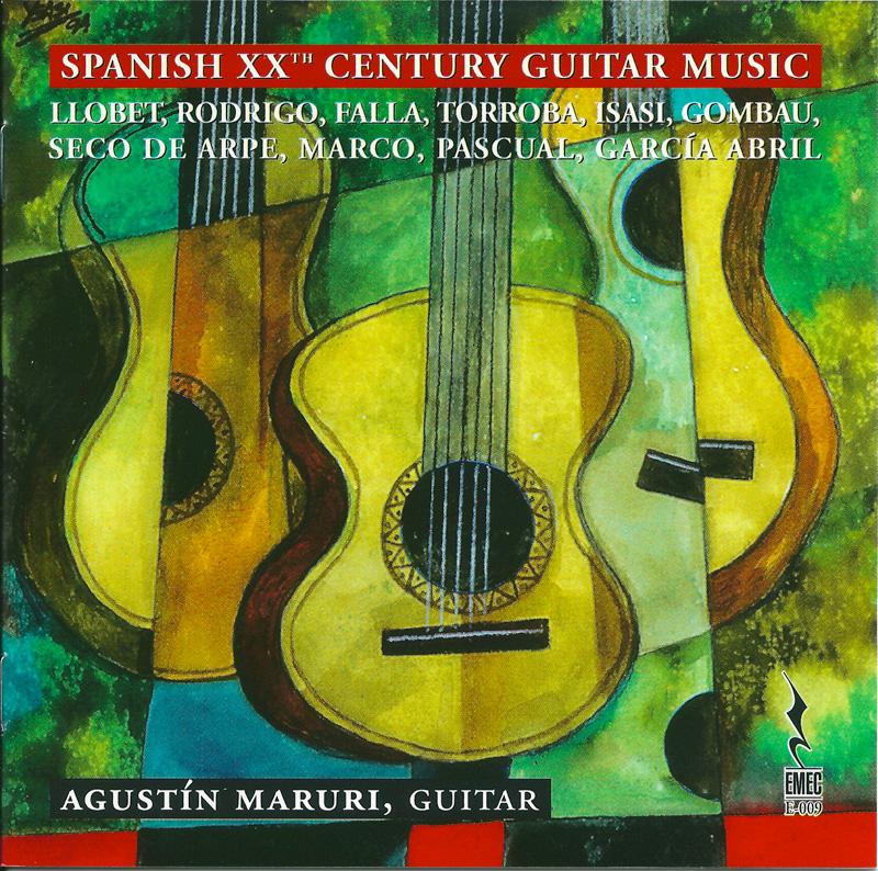 SPANISH XX CENTURY GUITAR MUSIC