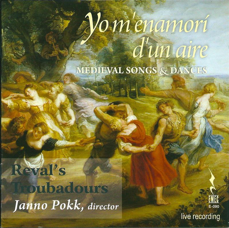 YO M'ENAMORÍ D'UN AIRE. (medieval songs & dances)