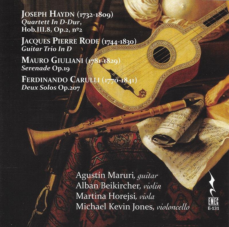 Haydn-Rode-Giuliani-Carulli-