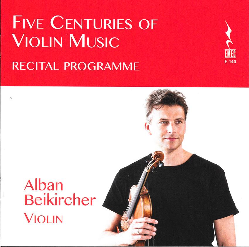 Five-centuries-of-violin-music